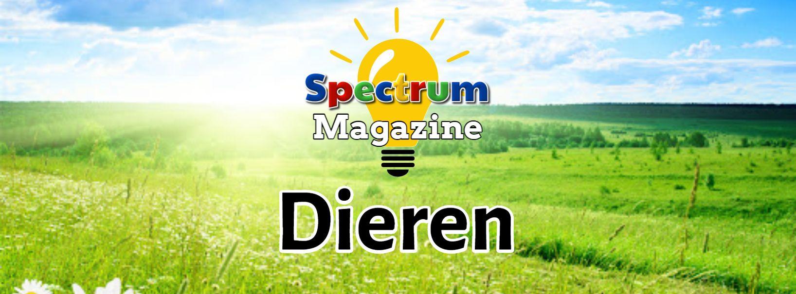 Spectrum magazine met logo DIEREN